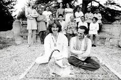 George Harrison.Ravi Shankar. 1974