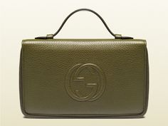 Gucci Leather Travel Document Case