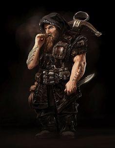 Dnd character, Tomasz Namielski on ArtStation at https://www.artstation.com/artwork/dnd-character-12cd7edf-c991-423d-afd8-4998f83c87b4