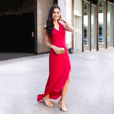 We love this sultry red gown. See more editor-approved red dresses on ShopStyle!