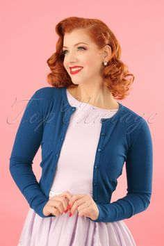 614fa3d636b The 50s Paloma Cardigan is a stunning cardigan in vintage fifties style!  One can never