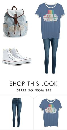 """""""#1"""" by ariel-key-ramos ❤ liked on Polyvore featuring Junk Food Clothing, Converse and Aéropostale"""