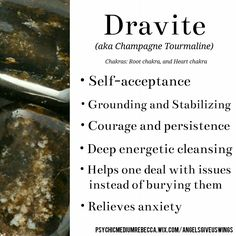 Dravite crystal meaning