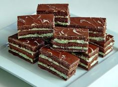 Romanian Desserts, Cake Bars, Sweet Tarts, Bacon, Food And Drink, Cooking Recipes, Ice Cream, Sweets, Candy