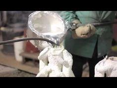 Khuôn tượng thạch cao tô màu - YouTube