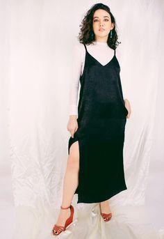 You searched for Slip dress - Loja ELLO Overalls, Inspired, Pants, Inspiration, Dresses, Fashion, Tejidos, Dress, Urban Fashion