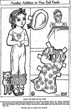 1309 best Paper Doll: Black and White images on Pinterest