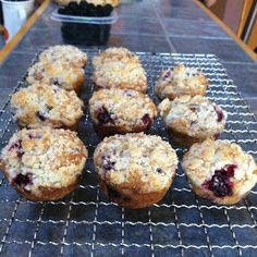 Quest for Delish: Blackberry Muffins