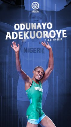 Proud Member of Team Nigeria. Olympic Wrestling, Olympics, The Unit, Photo And Video, World, Movie Posters, Wallpapers, Instagram, Film Poster