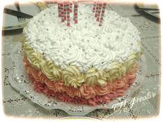#TMJcreative #birthdaycake #buttercreamroses