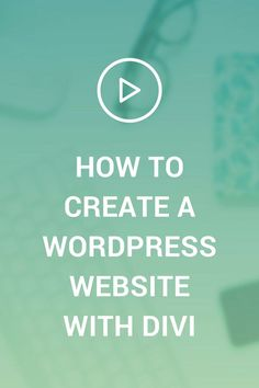 Wondering how to start your Wordpress website? Want to learn how to use Wordpress for your website? This tutorial will show you how with Flywheel hosting, and the Divi theme.