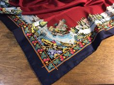 A personal favorite from my Etsy shop https://www.etsy.com/listing/527454483/pierre-deux-silk-scarf-1986-olivades