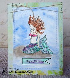 Great Impressions, Leah Cornelius, Rachel in the Sea, watercolor