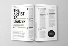 Artworks Journal - Editorial Design and Art Direction by The Design Surgery.