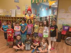 All My Children Learning Center's Summer Camp Voyager program starts off with a visit from Ronald McDonald. Ronald performed a comedy of tricks and songs while talking to the campers about the importance of eating healthy and exercising daily.