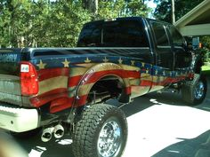 .When I can afford a cool truck I soooo wanna do this to it!