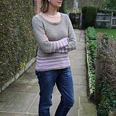 Ravelry: Tailored stripes pattern by Jutta Steffi Knit flat, DK, free