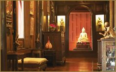 Résultats de recherche d'images pour « traditional thai wood home constructed Asian Interior, Interior And Exterior, Interior Design, Colonial Architecture, Japanese Architecture, Jim Thompson House, Thai House, Heavenly Places, House In The Woods