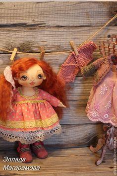 Купить Игровая кукла Василиса. - Кукла игровая, игровая кукла, текстильная кукла, кукла текстильная