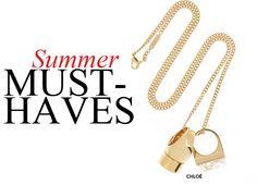 #summer #2013 #s13 #women #fashion #accessories #jewelry #chloe
