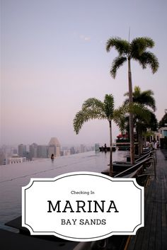 The Marina Bay Sands Hotel in Singapore offers a luxury stay with the worlds highest infinity pool. Location: Asia.