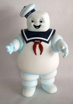 Figura hucha Marshmallow, 20 cms Los Cazafantasmas