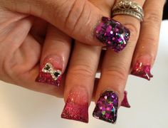 Acrylic nails by Keri Rose
