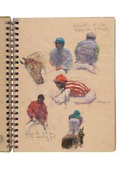 http://epc-artcourses.com/2012/06/joseph-zbukvic/ Sketch Journal, Artist Journal, Artist Sketchbook, Sketchbook Drawings, Art Sketches, Watercolor Sketch, Watercolor Landscape, Watercolor Artists, Watercolor Paintings