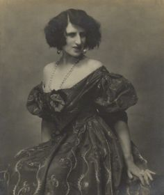 Lady Ottoline Morrell by Maurice Beck and Helen Macgregor.
