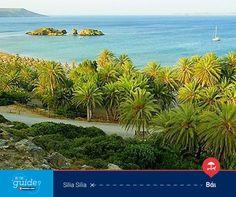 Η Silia Silia μας μεταφέρει, μέσω του Be the Guide, στο ανατολικό άκρο της Κρήτης και συγκεκριμένα στο φημισμένο Φοινικόδασος του Βάι.  Μπες κι εσύ στο www.betheguide.gr, ξενάγησέ μας στη δική σου Κρήτη και πάρε μέρος στις εβδομαδιαίες κληρώσεις για να κερδίσεις ένα ταξίδι με τη Minoan Lines!  #BeTheGuide   Visit www.betheguide.gr/en, share the places that make Crete special for you and enter the weekly draw to win your own trip.