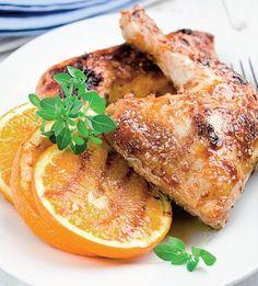 Pui cu portocale - Retete culinare - Romanesti si din Bucataria internationala