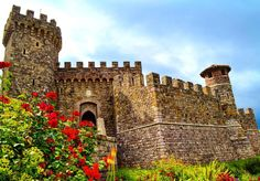 Castello di Amorosa the only authentically-built medieval (13th-century) Italian Tuscan castle and winery located in Calistoga California. It was first opened to the public in April 2007.  Castello di Amorosa is nestled in the western hills on 171 acres just minutes south of The Napa Valley town of Calistoga. After several decades of personal adventure visiting and studying medieval castles and wineries throughout Italy and Europe Dario Sattui a successful 4th-generation Italian winemaker…