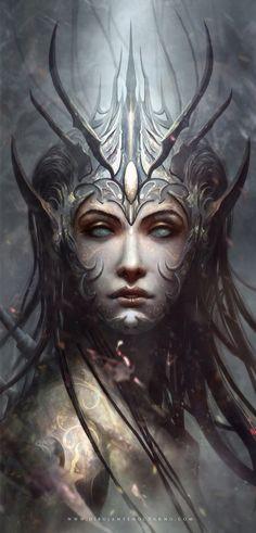 High Druid , Fanart Marta Nael by Dibujante-nocturno