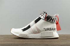 a30dd32dd Latest and Newest OFF-White blanc x Adidas Originals NMD City Sock Grey Black  Noir Youth Big Boys Sneakers
