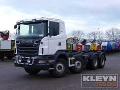 For sale: Used and second hand - Truck SCANIA Chassis Cabin R 560 #trucks at #kleyntrucks