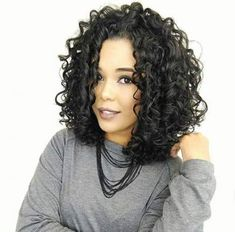 New Hairstyles Wavy Medium Hair Tutorials Curls Ideas New Hair Curly Hair Cuts, Short Curly Hair, Curly Hair Styles, Medium Curly, Hair Tutorials For Medium Hair, Medium Hair Styles, Medium Bob Hairstyles, Hairstyles Haircuts, Hair Curling Tutorial