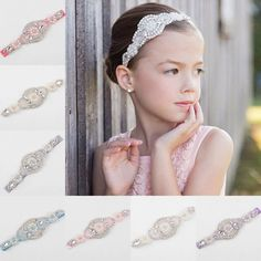 Venusvi Flower Girl Headband, Rhinestone Headband, Bridal Headband, Crystal Headband >>> You can find more details by visiting the image link. Wedding Headband, Gatsby Headband, Wedding Headdress, Headpiece, Crystal Headband, Rhinestone Headband, Rhinestone Appliques, Girl Hairstyles, Wedding Hairstyles
