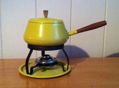 Vintage Fondue Pot by FlorabundaVintage on Etsy
