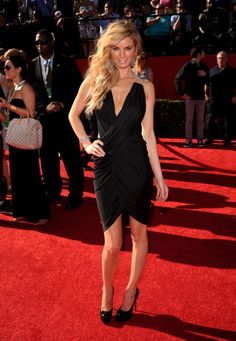 Model Marisa Miller arrives at the 2010 ESPY Awards at Nokia Theatre LA Live on July 14 2010 in Los Angeles California
