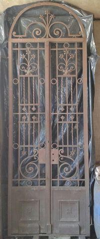 Puerta De Hierro Forjado Antigua Puertas De Hierro Forjado Hierro Forjado Puertas De Hierro