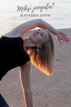 Jooga ei ole vain jumppaa. Jooga on jotain enemmän. Säännöllisesti harjoitettuna jooga auttaa kehoa notkistumaan ja vahvistumaan, sekä saavuttamaan myös mielenrauhaa. Jooga on kehon, sielun ja mielen harjoitus joka pyrkii tasapainoon. Miksi sitten asanaharjoitusta eli jooga liikkeitä tehdään? Vastaus on yksinkertainen. Asanaharjoitusta tehdään jotta saataisiin kehosta kireyksiä hölläämään. Miksi keho kiristyy? Tähän on monia fyysisiä syitä esimerkiksi työasennot, nukkuminen ja ikääntyminen. Game Of Thrones Characters, Fictional Characters, Fantasy Characters