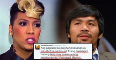 [Todays Viral] Vice Ganda used Twitter to react to Manny Pacquiao's opinion about the same sx marriage!