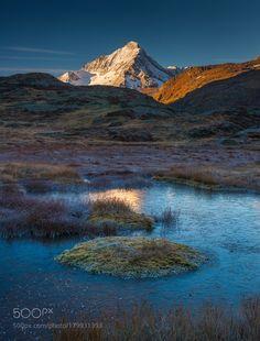 Albos by vincentfavre with autumnlakemountainswaterreflectiontravelbluefallsnowfrancemountainalpsalpesmontagnesavoiepaysagevanoiseRhône-Alpes