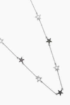 Esprit / Ketju, jossa tähtiä ja kivisomisteita Jewelry, Fashion, Moda, Jewlery, Bijoux, Fashion Styles, Schmuck, Fasion, Jewerly