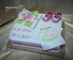 Cake for christening