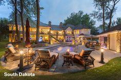 Dakota Dynamo Home in Dakota Dunes, South Dakota. $4.5 Mil.  5-3-16.