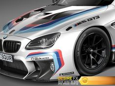 BMW M6 GT3 2016 3D Model  http://www.desirefx.me/bmw-m6-gt3-2016-3d-model/