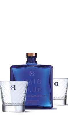 Haig Club (if you haven't already heard) is a new single grain whisky developed in partnership with David Beckham. And it's making quite a splash. <br><br>Haig Club has an ultra-smooth taste, with delicious notes of butterscotch and toffee. <br><br>In an A&J exclusive, the stunning and stylish blue bottle comes with two equally stunning, heavy and handsome Haig Club glasses.