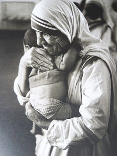 Blessed Mother Theresa... A life devoted to ministering to poor, sick, orphaned, and dying. A life devoted to and spent living the teachings of Jesus Christ.