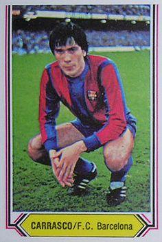 """""""Lobo"""" Carrasco, F.C. Barcelona"""